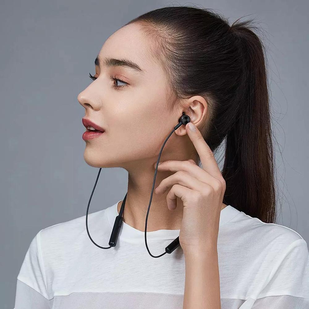 Xiaomi Mi Bluetooth Earphone Neckband Wireless Headset   Black ...
